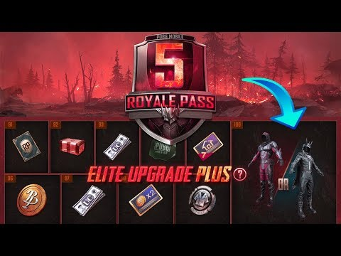 SEASON 5 ROYALE PASS ALL REWARDS ! PUBG MOBILE - 동영상