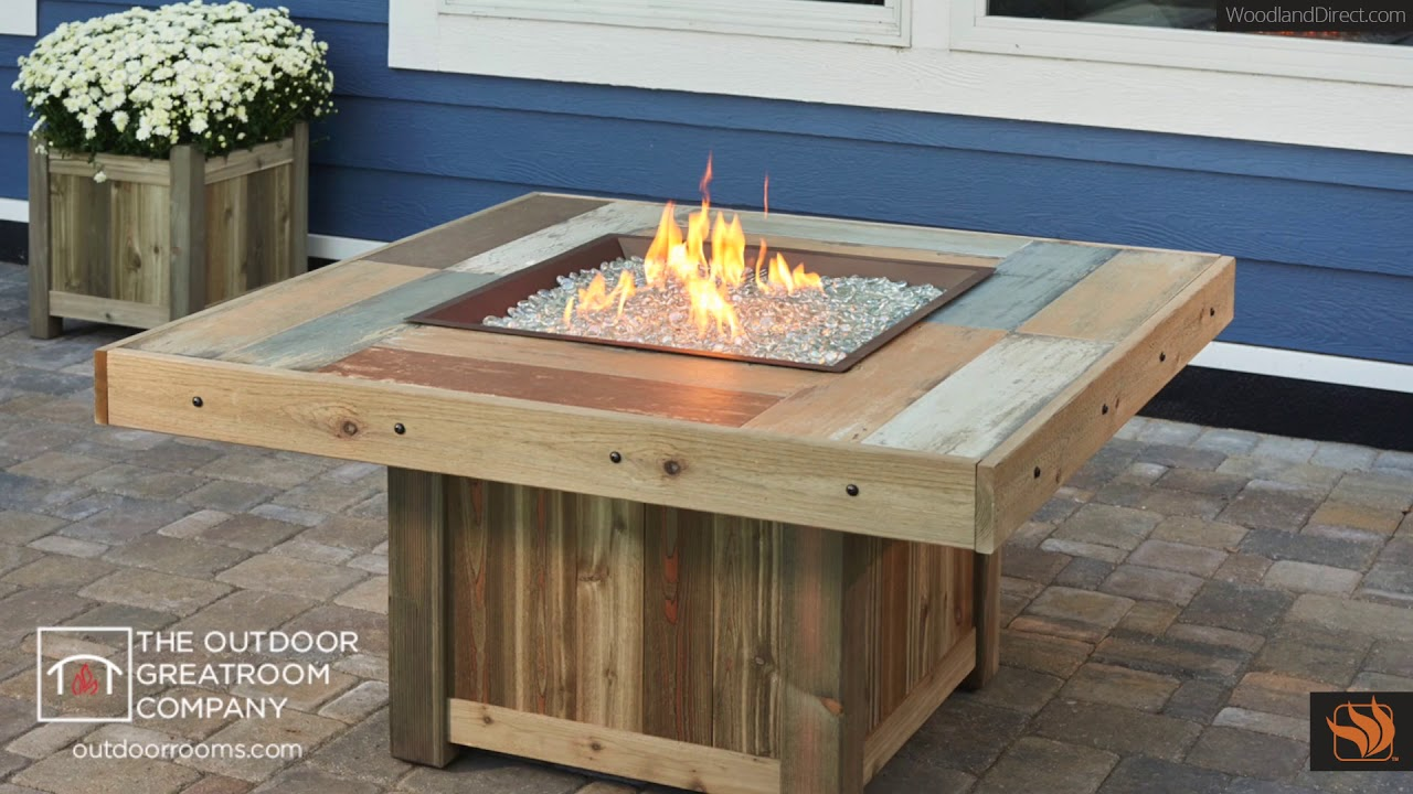 Vintage Fire Pit Table Collection. Woodland Direct Inc - Vintage Fire Pit Table Collection - YouTube