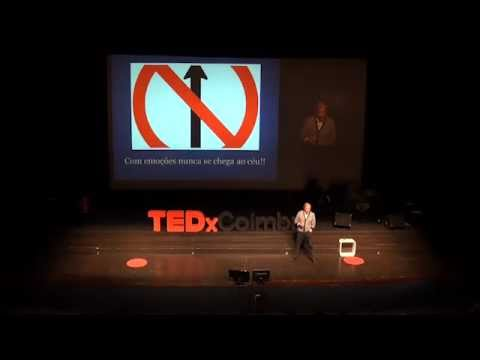 Com emoções nunca se chega ao céu: Eduardo Sá at TEDxCoimbra