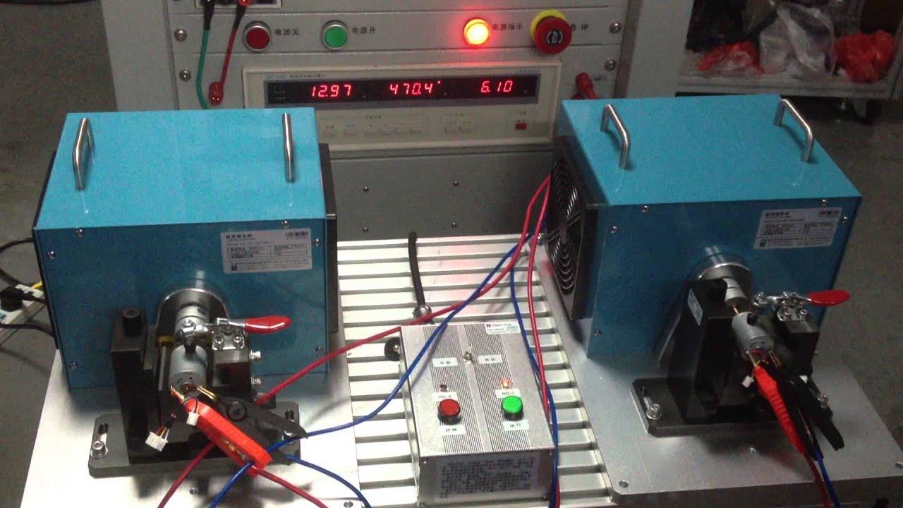 Motor Dynamometer Demo Of Motor Test By Valid Magnetics