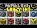 Minecraft CRAZY TNT MOD l 50+ NEW NUKES, BLACK HOLES, MOABS & MORE! l Modded Mini-Game