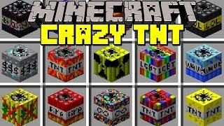 Minecraft CRAZY TNT MOD l 50+ NEW NUKES, BLACK HOLES, MOABS & MORE! l Modded Mini-Game
