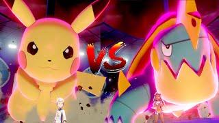 Pokémon Sword & Shield Walkthrough Part 4 -  Dynamax Pikachu! - Water Gym Battle
