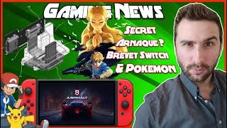 SECRET ZELDA, ARNAQUE BOITES, BREVET SWITCH & SACHA BAT LA LIGUE POKEMON !