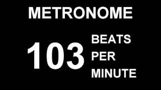 METRONOME 103 BPM (BEATS PER MINUTE)