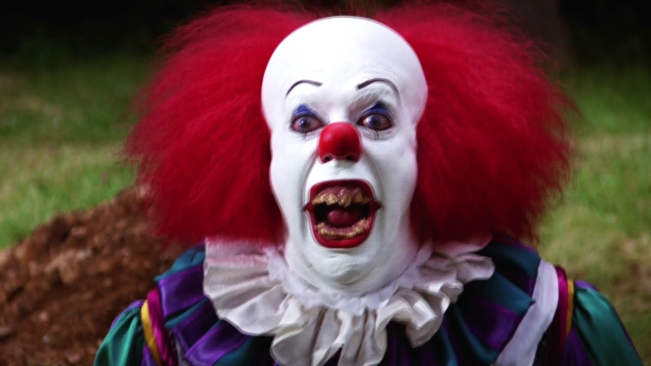 Best of Tim Curry's Pennywise (Stephen King's IT 1990) - YouTube