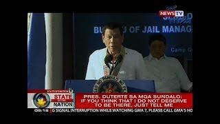 SONA: Gen. Año: Mga sundalo at pulis nagre-recruit sa 'Red October,' hindi galing sa loob ng bansa