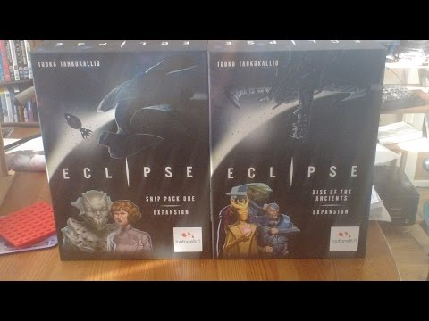 Boardgame Night ; We play Eclipse & expansions