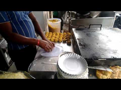Bangalore street food || VV puram || street food chat