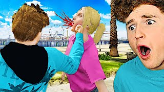 I FROZE TIME In GTA 5.. (GTA 5 Mods)