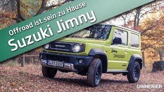 Der neue Suzuki Jimny - er will ins Gelände   DINNEBIER TV
