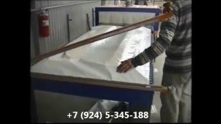 Упаковочная линия для упаковки дверей в защитную пленку УМ-1 Макси(ПОДРОБНОСТИ НА НАШЕМ САЙТЕ: Наш сайт: http://profpak.com/ ПрофПак.рф www.profpak.com +7 (903) 453-34-38 +7 (961) 317-63-30 + 7 (951) ..., 2013-02-26T09:39:57.000Z)