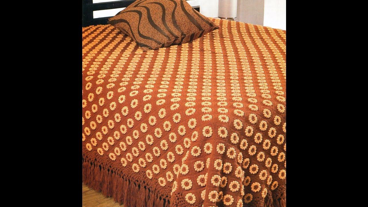 Crochet Patterns For Free Crochet Bedspread 1702 Youtube