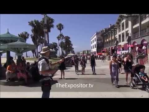 Gospel Invasion of the Boardwalk - Venice Beach