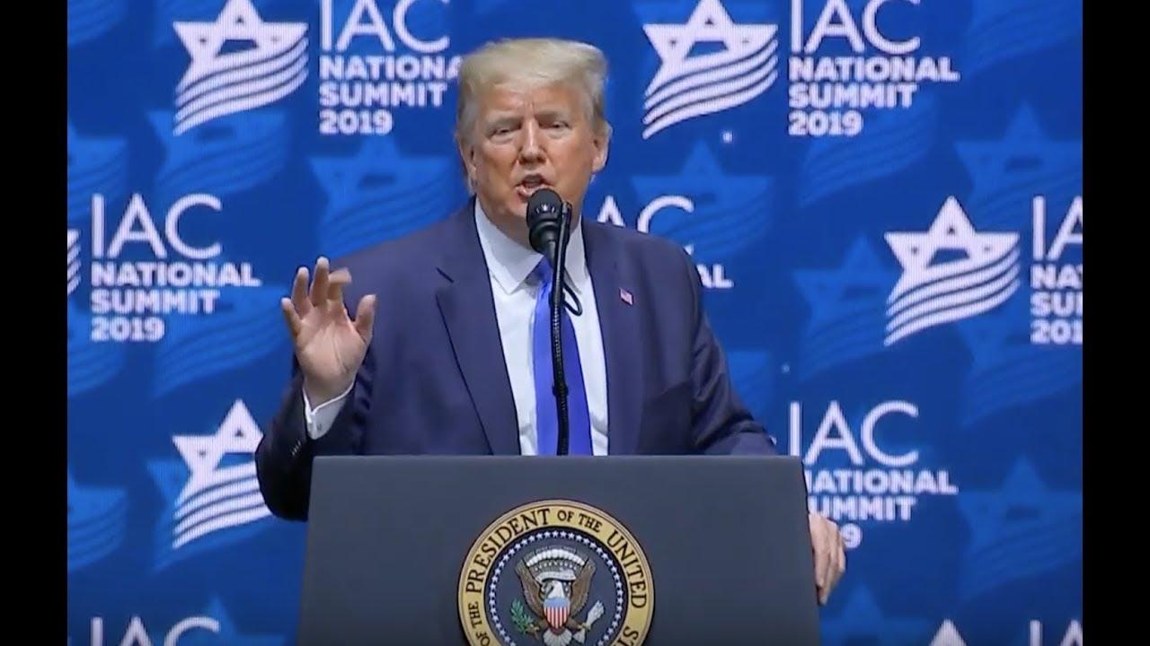 CROWD ERUPTS: Trump EXPLOSIVE Speech at Israeli American Council National Summit - GST