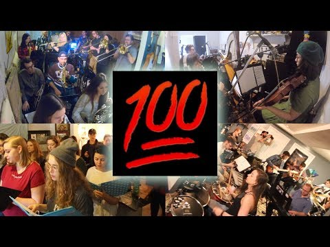 "100 Musicians play ""Wake Up"" by Arcade Fire 