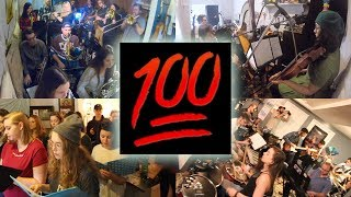 """100 Musicians play """"Wake Up"""" by Arcade Fire   Apartment Sessions Vlog"""