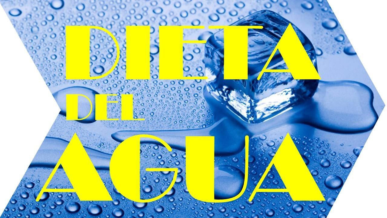 La dieta del agua para adelgazar