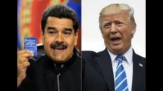 Trump Threatens Mílítary Intervention In Venezüela