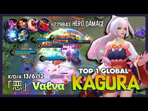 Late Game 30 Minutes with Cherry Witch? New Queen「恶」Vαℓνα Top 1 Global Kagura ~ Mobile Legends