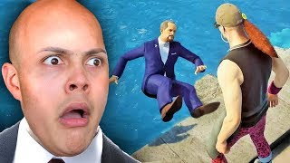 I PUSHED HIM AND RUINED THE RACE (Hitman 2)