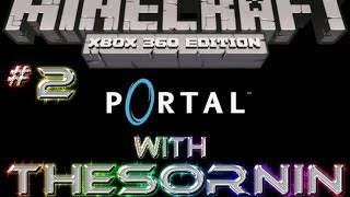 "Minecraft: XBOX 360 Edition - ""Portal"" Puzzle Map with Download - Ep. 2"