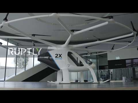 Singapore: Volocopter unveils 'flying taxi' in Singapore