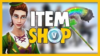 FORTNITE DAILY SHOP ITEMS | MARCH 15 - 16 | SGT. GREEN CLOVER SKIN!! |