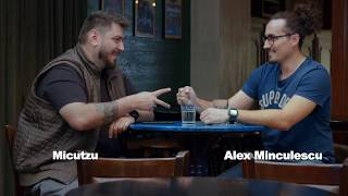 &quotRazi ca prostul&quot, batalia glumelor Micutzu vs. Alex Minculescu