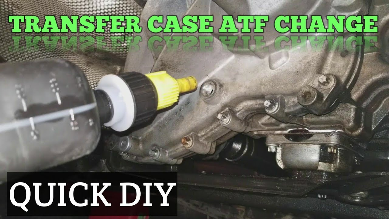 how to change a transfer case