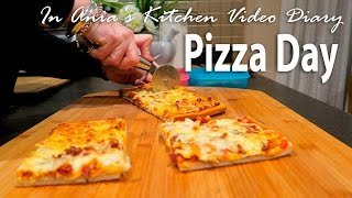 Ania's Video Diary - Pizza Day - Daily Vlog