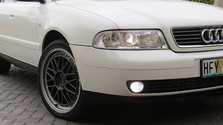Audi B5 A4 Before Bumper Repair