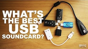 What's the Best USB Soundcard? (OLD)