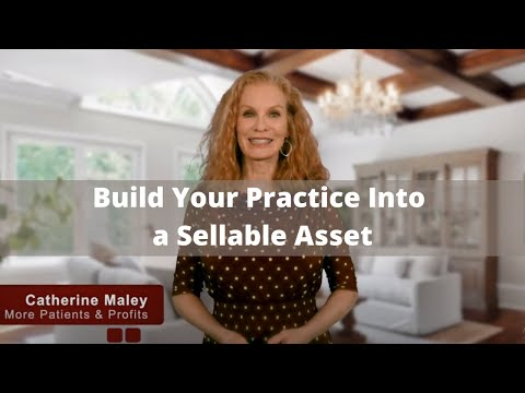 How to Grow a Cosmetic Practice into a Sellable Asset