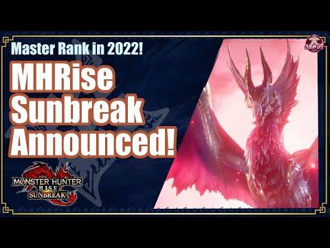 MHRise Sunbreak Announced!