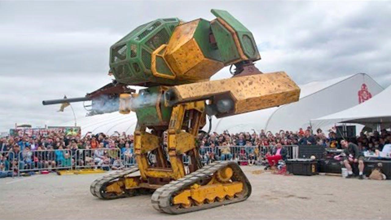 Dünyadaki En İnanılmaz 8 DEVASA ROBOT