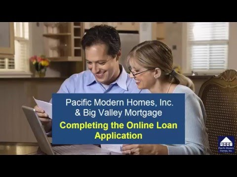 completing-the-online-loan-application-for-big-valley-mortgage