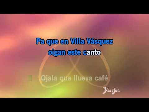 Karaoke Ojalá que llueva café - Juan Luis Guerra *
