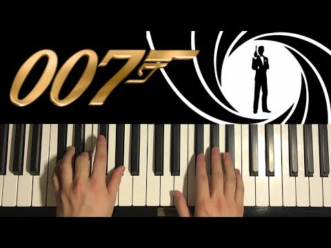 How To Play - JAMES BOND 007 Theme (PIANO TUTORIAL LESSON)