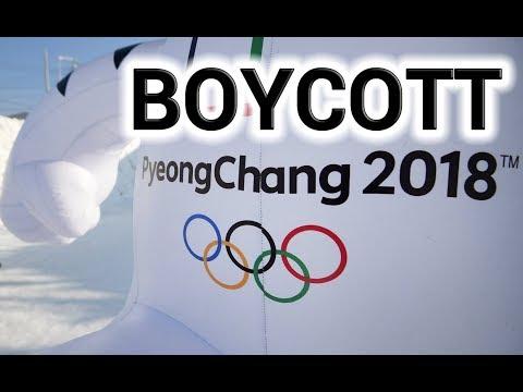 South Korean Olympics 2018 BOYCOTT!