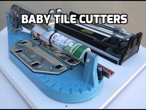 Sigma Tile Cutter VS. Cheap Amazon Tile Cutter