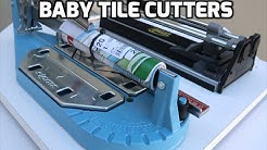Sigma Tile Cutter VS. Cheap Amazon Tile Cutter