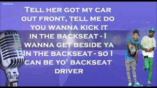 New Boyz: Backseat(Lyrics)