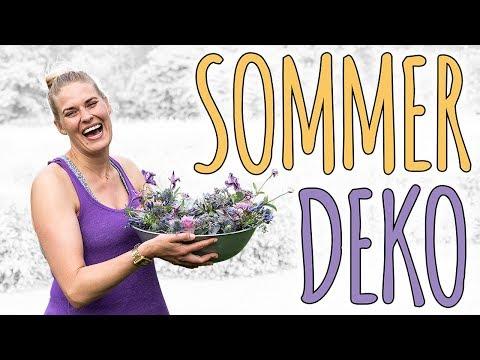 SOMMER DEKO IM TREND 2018 - ULTRA VIOLET - DIY