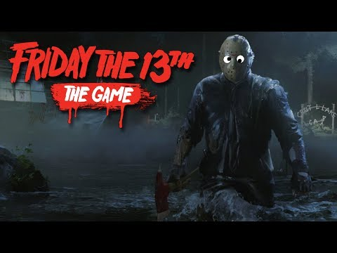 Friday The 13th: The Game - BEST JASON IN THE GAME!