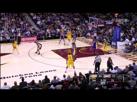 12 11 2012   Lakers Vs  Cavaliers   Team Highlights