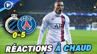 Les joueurs du PSG épatés par Kylian Mbappé