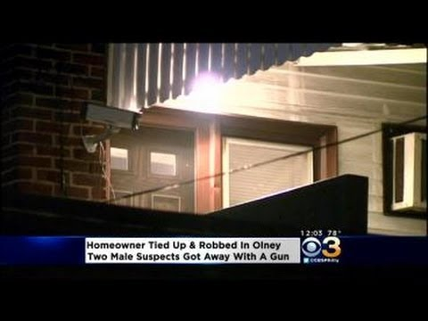Woman Tied Up In Olney Home Invasion