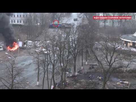 New Video of Killings of Maidan Protesters by Berkut Soldiers in Kyiv in February 2014.