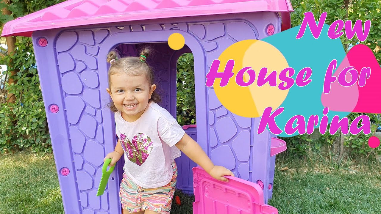 Karina Builds Her Own House